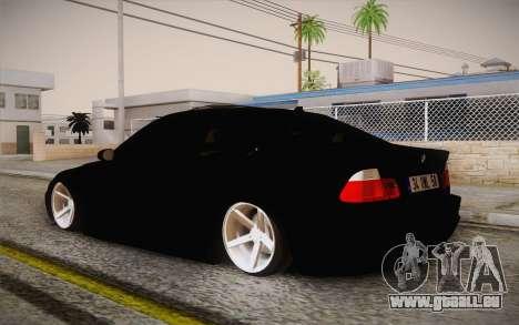 BMW 318 Ci 34 UNL 58 für GTA San Andreas linke Ansicht