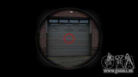 Machine Steyr AUG A3 Optique des Points pour GTA 4 troisième écran