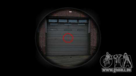 Maschine Steyr AUG A3 Optik Punkten für GTA 4 dritte Screenshot