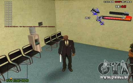 C-HUD by thereobull für GTA San Andreas dritten Screenshot