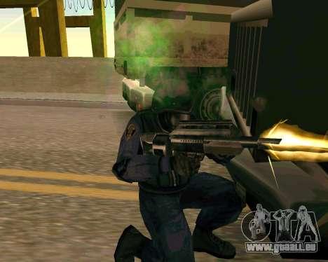 Jackhammer de Max Payne pour GTA San Andreas septième écran