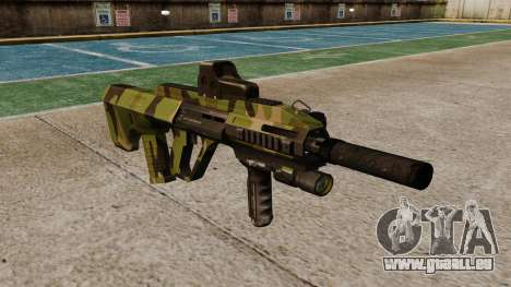 Автомат Steyr AUG-A3-Optik-Woodland für GTA 4