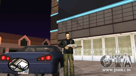 Retexturer pantalon de Binco pour GTA San Andreas deuxième écran