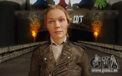 Alice Wake pour GTA San Andreas troisième écran
