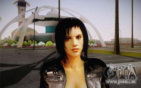 Jill Biker pour GTA San Andreas troisième écran