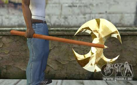 Golden axe für GTA San Andreas dritten Screenshot