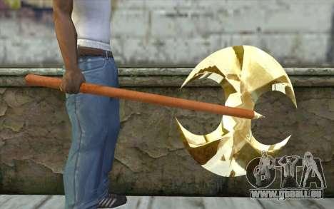 Hache d'or pour GTA San Andreas troisième écran