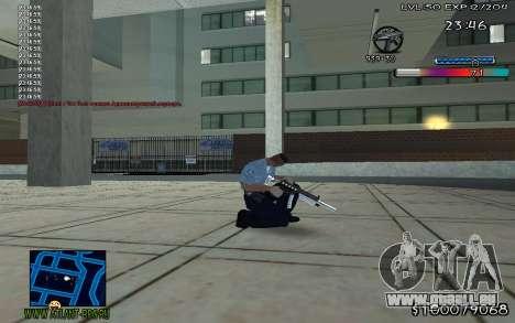 С-HUD Adidas für GTA San Andreas zweiten Screenshot
