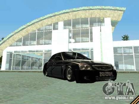 VAZ 2170 pour GTA San Andreas vue de côté