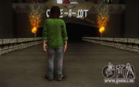 Sam Winchester из Übernatürlichen für GTA San Andreas zweiten Screenshot