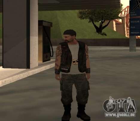 Motard de la part du club des Routes Anges pour GTA San Andreas