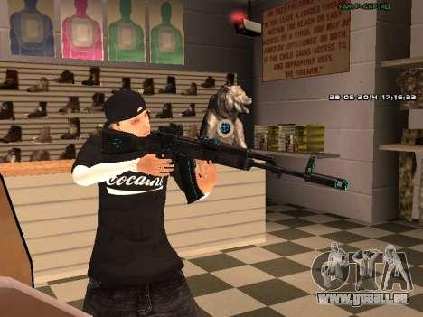 AK-74 pour GTA San Andreas