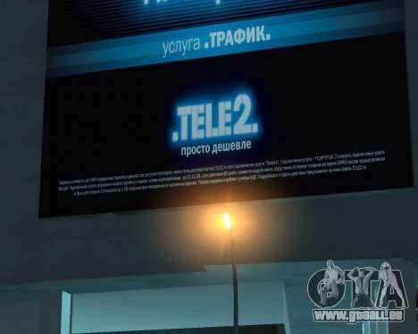 Office-TELE2 für GTA San Andreas zweiten Screenshot