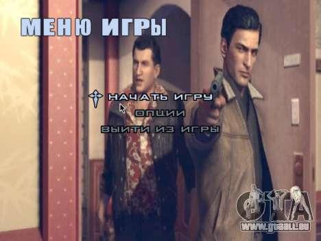 L'écran de démarrage de Mafia II pour GTA San Andreas sixième écran