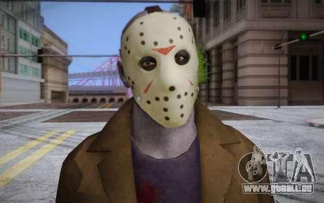 Jason Voorhees pour GTA San Andreas troisième écran