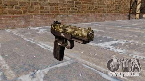 Pistolet FN Cinq à sept Hex pour GTA 4