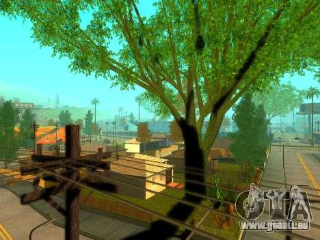 ENBSeries Realistic Beta v1.0 pour GTA San Andreas quatrième écran
