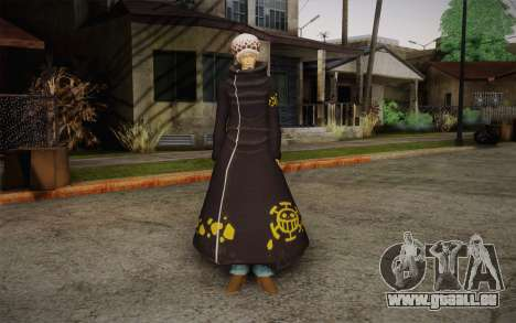 One Piece Trafalgar Law pour GTA San Andreas