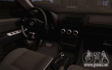 Lexus IS300 2003 pour GTA San Andreas vue de droite