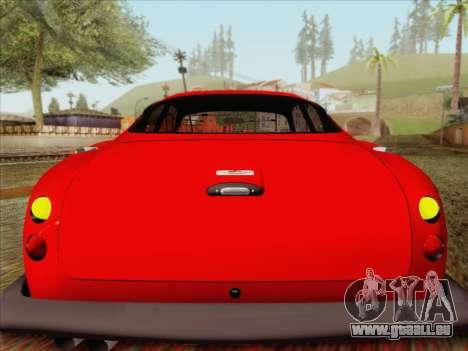Aston Martin DB4 Zagato 1960 pour GTA San Andreas vue intérieure