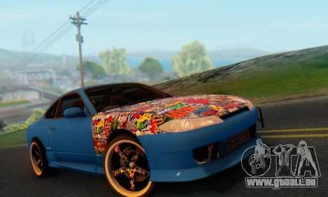 Nissan Silvia S15 Metal Style für GTA San Andreas Rückansicht