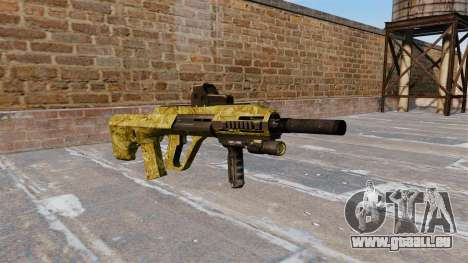 Maschine Steyr AUG A3 Gold für GTA 4