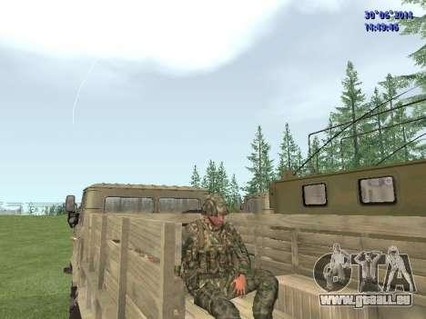 Die Kämpfer der Russischen Armee für GTA San Andreas sechsten Screenshot