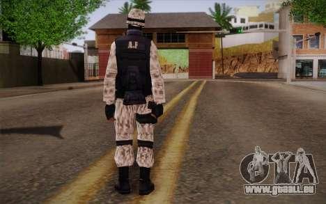 SWAT Snow Camo pour GTA San Andreas deuxième écran