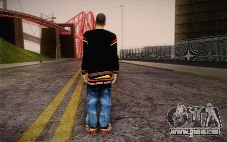 Sami Woles Skin pour GTA San Andreas deuxième écran