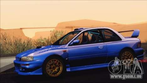 Subaru Impreza 22B STi 1998 pour GTA San Andreas vue de côté