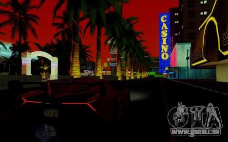 ENBSeries pour les faibles PC v2 [SA:MP] pour GTA San Andreas cinquième écran
