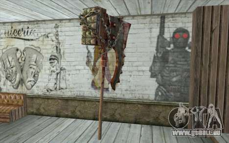La hache du bourreau (Resident Evil 5) pour GTA San Andreas deuxième écran