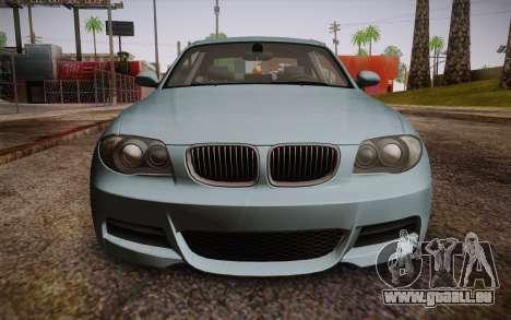 BMW 135i Limited Edition pour GTA San Andreas vue de droite