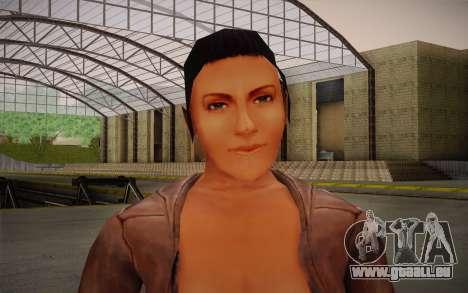 Woman Autoracer from FlatOut v4 für GTA San Andreas dritten Screenshot
