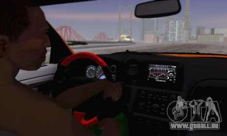 Nissan GTR Heavy Fire für GTA San Andreas Seitenansicht