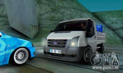 Ford Transit Pikap für GTA San Andreas