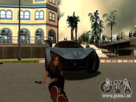 ENB Series by Makar_SmW86 [SAMP] pour GTA San Andreas deuxième écran