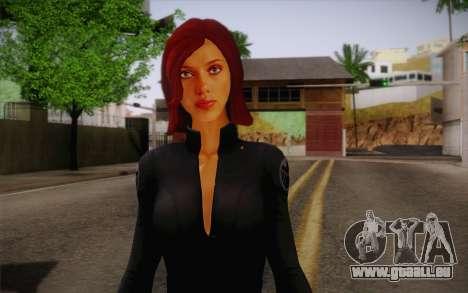 Scarlet Johansson из Avengers pour GTA San Andreas troisième écran