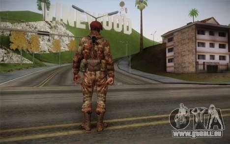 U.S. Soldier v2 für GTA San Andreas zweiten Screenshot