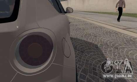 Afla Romeo Mito Quadrifoglio Verde pour GTA San Andreas vue de côté