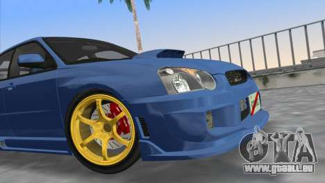 Subaru Impreza WRX STI 2005 für GTA Vice City rechten Ansicht