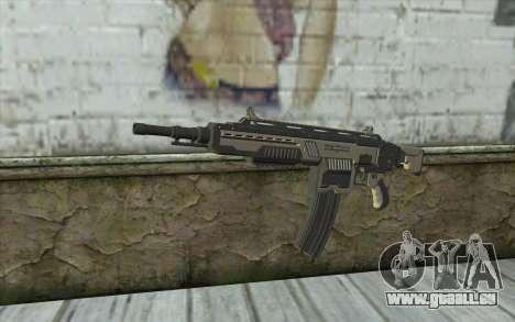 NS-15M Machine Gun from Planetside 2 für GTA San Andreas