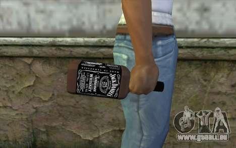 Jack Daniels Whiskey für GTA San Andreas dritten Screenshot