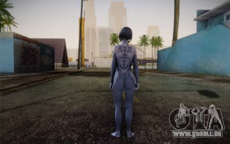 Cortana from Halo 4 pour GTA San Andreas deuxième écran