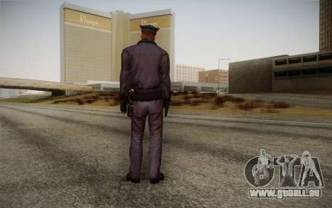 Policeman from Alone in the Dark 5 für GTA San Andreas zweiten Screenshot
