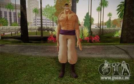 One Piece Whitebeard Edward Newgate für GTA San Andreas