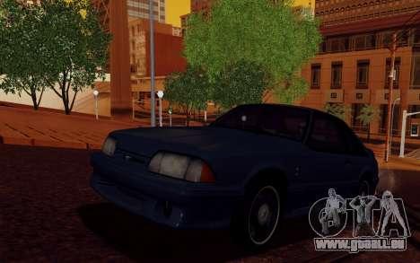 ENBSeries pour les faibles PC v2 [SA:MP] pour GTA San Andreas deuxième écran