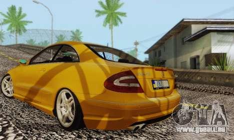 Mercedes-Benz CLK55 AMG 2003 für GTA San Andreas Unteransicht