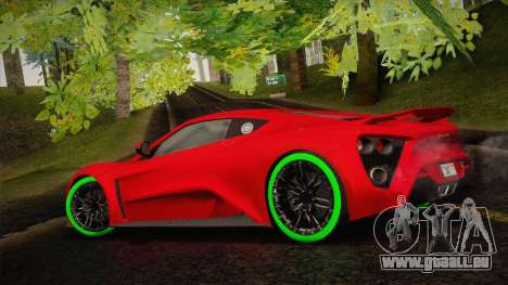 Zenvo ST1 SLow 2010 pour GTA San Andreas laissé vue
