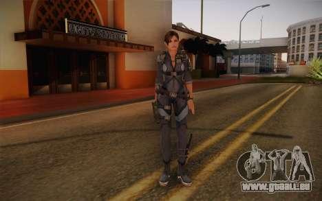 Jill Valentine from Resident Evil: Revelations für GTA San Andreas